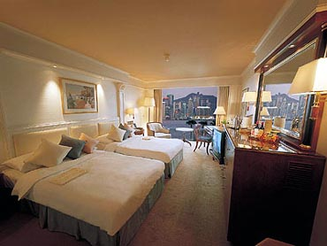 View of Guest Accommodations at the Grand Stanford Inter-Continental Hotel Hong Kong